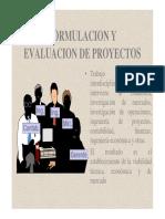 Formulación y Ev. de Proy