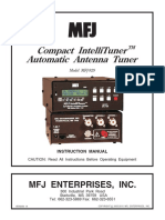 MFJ-929 Manual En
