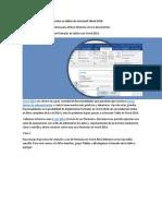 Funciones Para Realizar Cálculos en Tablas de Microsoft Word 2016