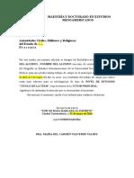 Autoridades Civiles Militares y Religiosas