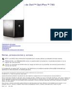 Optiplex-780 Service Manual2 Es-mx