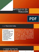 CAPITULO N°03 TRACCION