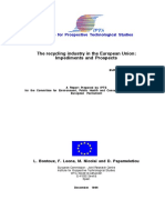 The Recycling Industry in the European Union - Impediments and Prospects