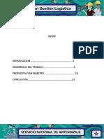 5 ,6 Evidencia Plan Maestro y Estrategias de Distribucion Logistica