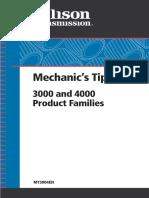 Allison HD4060 Service Manual PDF