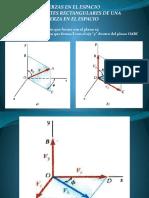 Vectores en 3d Clase de Estatica