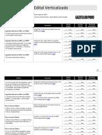 Edital Verticalizado Tecnico Do MPU
