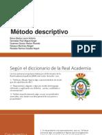 Metodo Descriptivo Hector