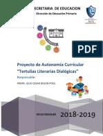 Proyecto de Autonomia Curricular