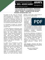 Gaceta Del Asociado - Edicion 1 - 2016