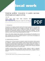 1-Différents Types d'Innovation Publique