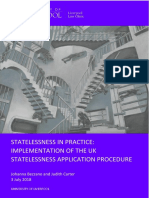 Statelessness in Practice