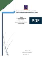 Bangladesh Government Budget Fiscal Year 2017-2018 Analysis (Sanzid2580.Gmail.com)