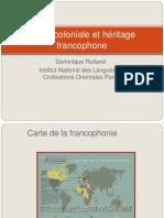 Ecole Coloniale - Dominique Rolland