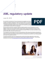 Aml Regulatory Update 2018