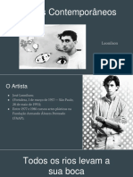 Artistas Contemporâneos - Leonilson