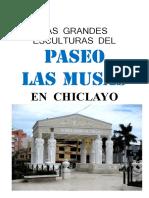 Esculturas Del paseo las Musas - Chiclayo - Perú