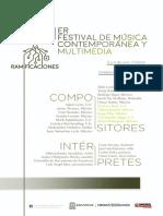 Festival Ramificaciones OEGF