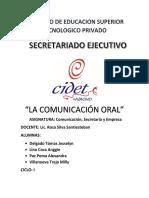 Monografia de La Comunicacion Oral