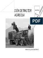 Operación de Tractor Agricola Cg