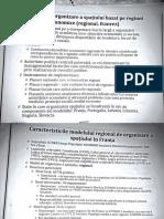 Cursuri 3, 4 Modele europene de organizare a spatiului