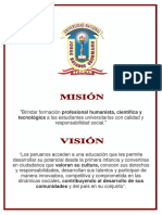 Mision Vision a4