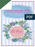 Planner Para Imprimir - 4º Ano