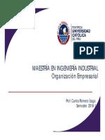 Clase 13 Organización Empresarial Mayo 03