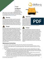 Delta-Q QuiQ BatteryCharger Product Manual JLG