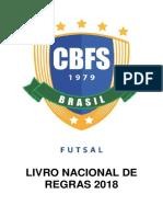Livro Nacional de Regras 2018