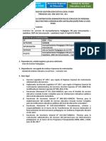Convocatoria 06 Acomp. Pedag. Soport. Ped. Comunic. Castellano (2)