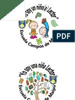 Chapas Niño Lector 2015
