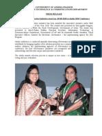 JKC Award Press Release