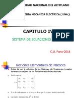 Capitulo IV Ecuaciones Lineales