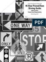 Parent Teen Driving Guide