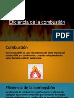 Eficiencia de La Combustión