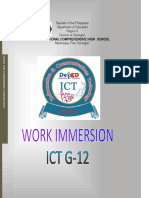 ICT Immersion Cover