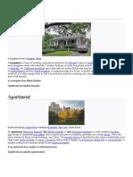 tipos de casas en inglés