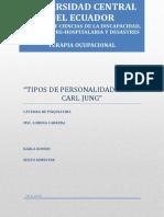 Tipos de Personalidad Según Carl Jung