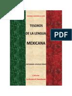 Lengua mexicana - tesoros
