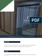 Apresentação Comercial Elementary Consultoria e Projetos