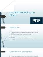 Control Mecánico de Placa