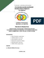 Perfil de Proyecto Productivo Diesel (1)