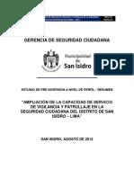 RESUMEN Proyecto Inversion Publica