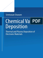 Srinivasan Sivaram (Auth.)-Chemical Vapor Deposition_ Thermal and Plasma Deposition of Electronic Materials-Springer US (1995)