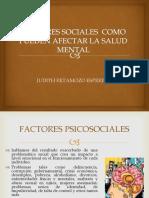 Factores Sociales Como Pueden Afectar La Salud Mental