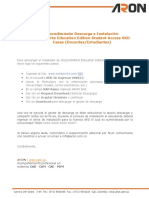 Procedimiento Descarga e Instalacion Licencias SOLIDWORKS Externas SKD (Docentes-Estudiantes)