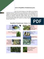 Destacan potencial de República Dominicana para exportar frutas