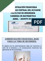 Análisis Financiero_carrera de Matemática