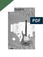 Manual de Usuario - Peavey Detonator